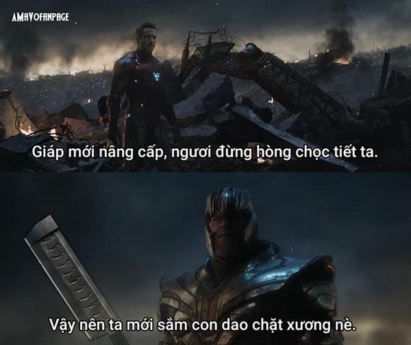 ảnh chế avengers endgame