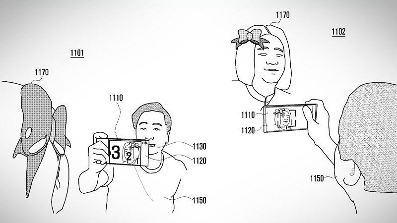 Samsung được cấp bằng sáng chế smartphone có màn hình nối tiếp ra mặt lưng