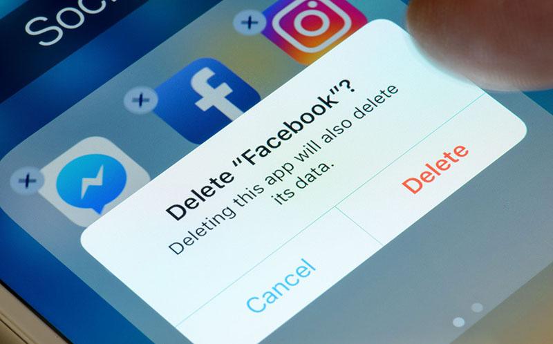 xóa facebook