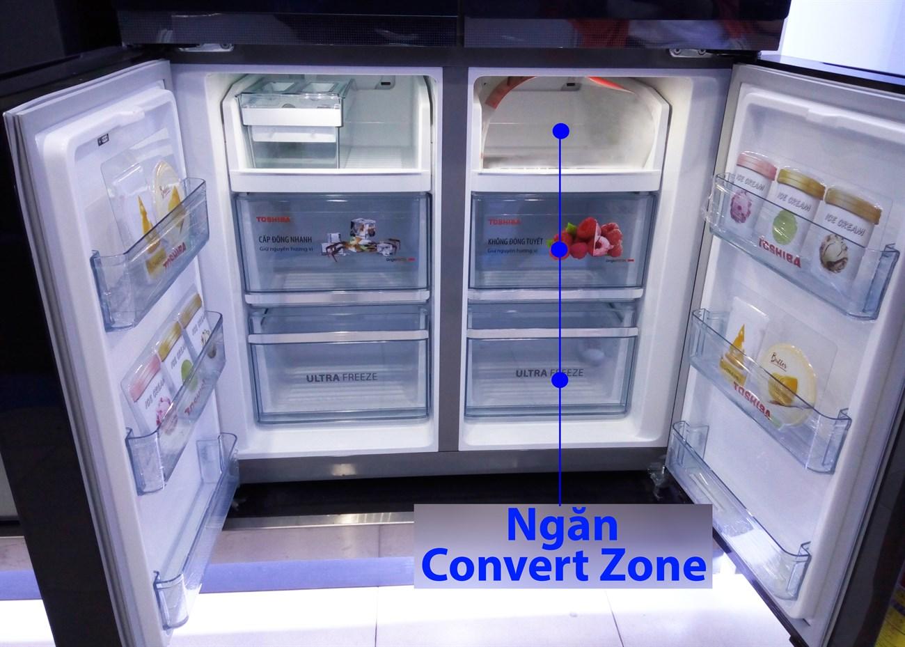 Thiết kế bên trong - Ngăn Convert Zone
