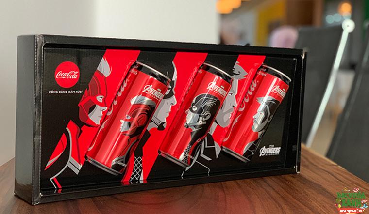 Coca Cola Avengers, món quà đặc biệt dành riêng cho tín đồ Marvel