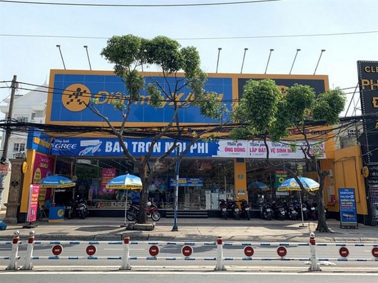 Siêu thị điện máy xanh tại 06 Nguyễn Sơn, Phường Phú Thọ Hoà, Quận Tân Phú, TPHCM