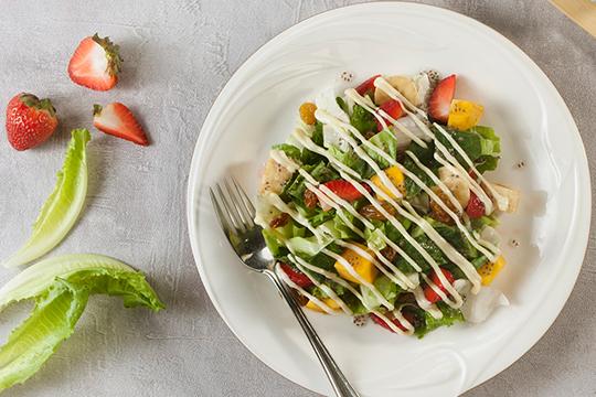 Bước 3 Thành phẩm Salad hạt chia