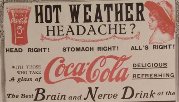 Bạn có biết Coca Cola bắt nguồn từ thuốc trị đau đầu