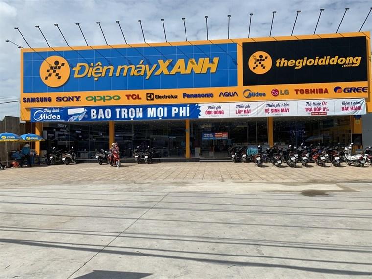 Siêu thị điện máy xanh tại B5/19N Trần Đại Nghĩa, Ấp 2, Xã Tân Kiên, Huyện Bình Chánh, Thành phố Hồ Chí Minh