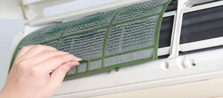 Thay bộ lọc máy lạnh