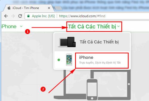 Cách 2: Dùng iCloud