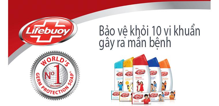 Lifebuoy - nhãn hiệu sạch khuẩn số 1 thế giới