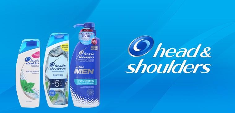 Head & Shoulders - Nhãn hiệu trị gàu số 1 thuộc tập đoàn P&G