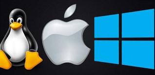 So sánh Mac, Windows và Linux: Đâu là hệ điều hành đáng sử dụng hơn?