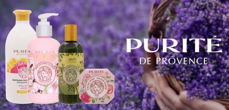 Purité lấy cảm hứng từ nguyên liệu thiên nhiên vùng Provence nước Pháp