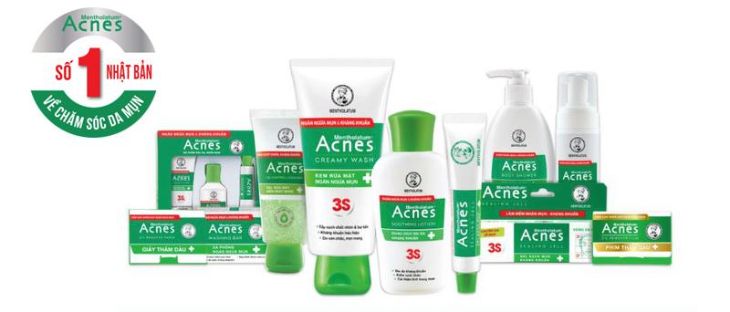 Bộ sản phẩm acnes