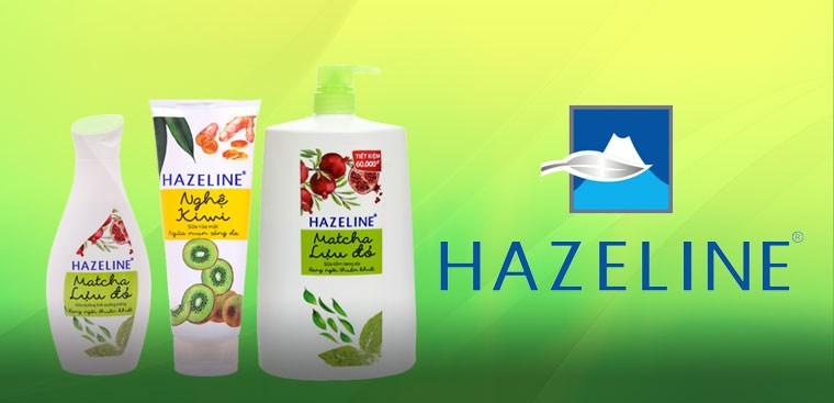 Hazeline - Thương hiệu chăm sóc da nội địa của Unilever