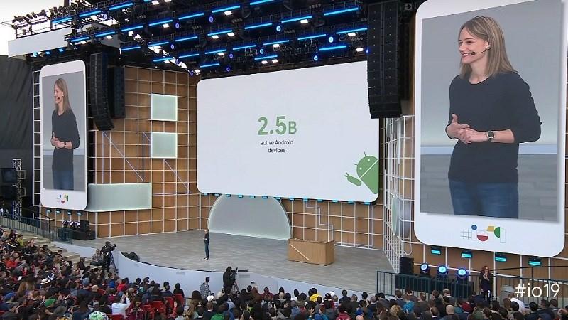 Google I/O 2019: Hiện có 2.5 tỷ thiết bị Android đang hoạt động