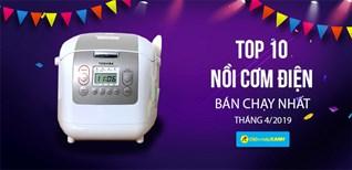 Top 5 nồi cơm điện bán chạy nhất Điện máy XANH tháng 4/2019