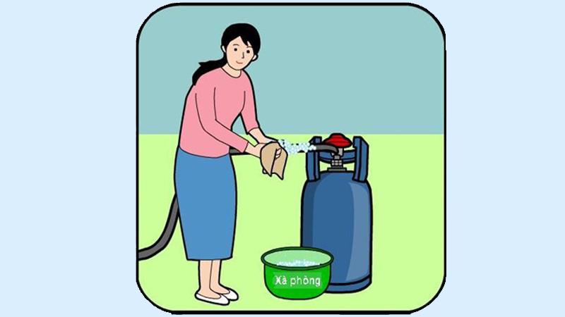 Kiểm tra và xử lí bình gas