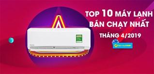 Top 7 máy lạnh bán chạy nhất Điện máy XANH tháng 4/2019