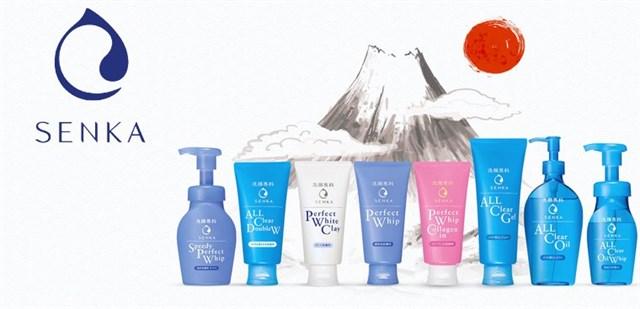 Senka – Nhãn hiệu chăm sóc da thuộc tập đoàn Shiseido, Nhật Bản