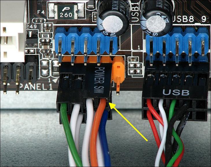 Các nút nguồn I/O máy tính.