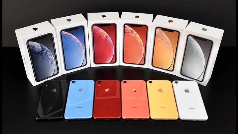 iPhone Xr sẽ có thêm 2 màu mới, thay thế màu Cam và Xanh dương