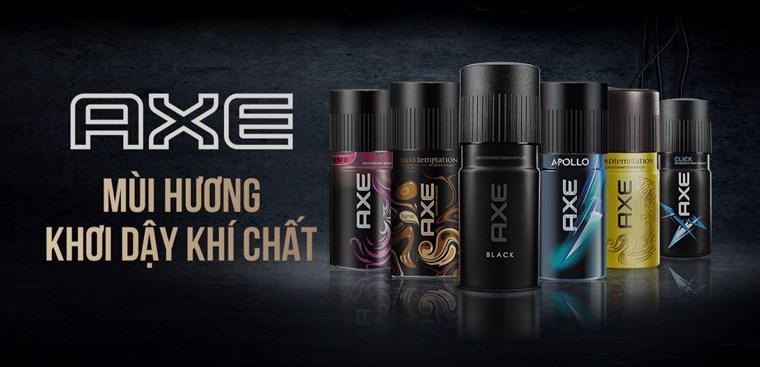 Axe - Nhãn hiệu mùi hương nam bán chạy số 1 thế giới