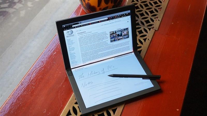 Lenovo giới thiệu nguyên mẫu laptop màn hình dẻo ThinkPad X1