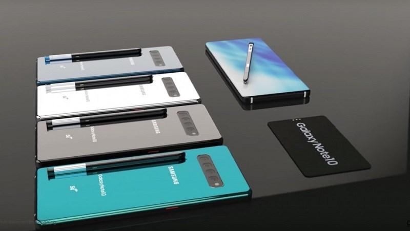 Đây là thỏi pin của Galaxy Note 10 5G, nhưng nó khá lạ