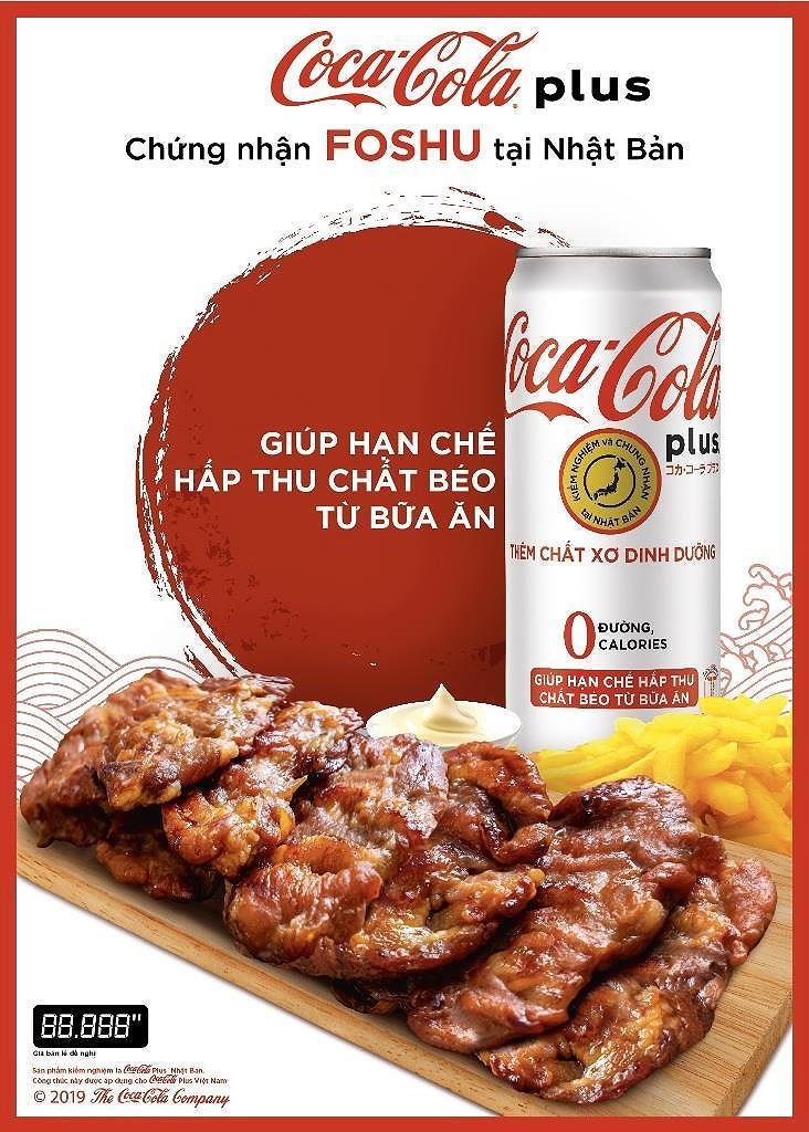 Coca-Cola plus đạt chứng nhận Foshu Nhật Bản đã có mặt tại Việt Nam