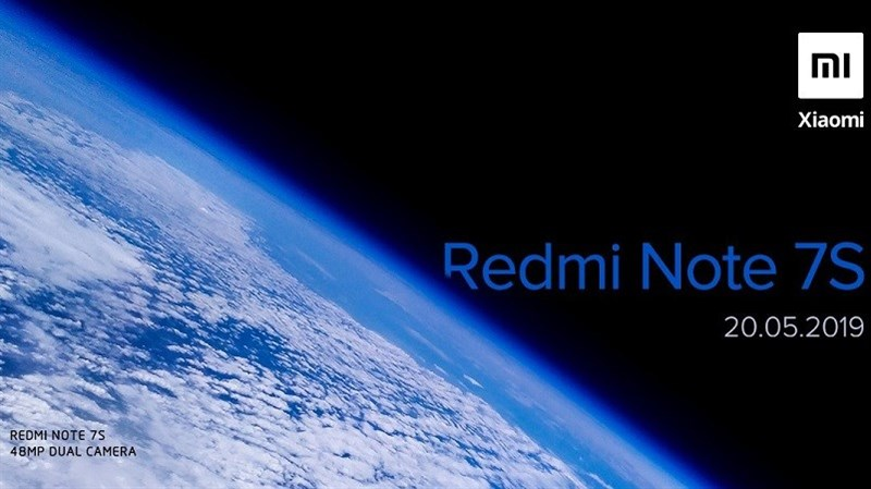 Redmi Note 7S với camera sau 48MP sẽ ra mắt tại Ấn Độ vào ngày 20/5