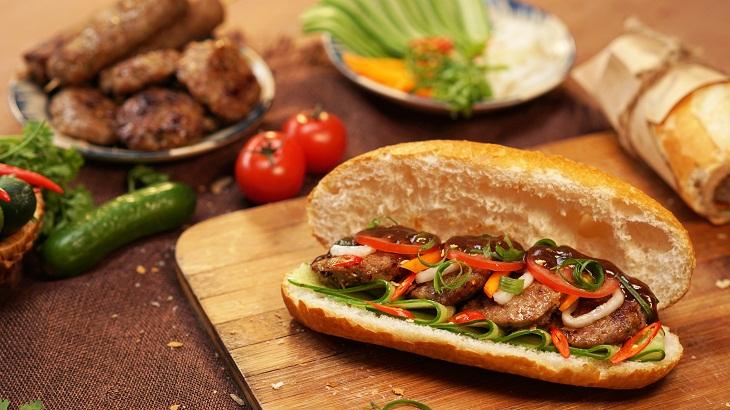 Bước 5 Hoàn thành Bánh mì thịt nướng