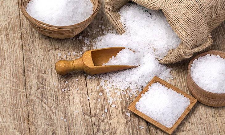 tác dụng của muối trong làm đẹp