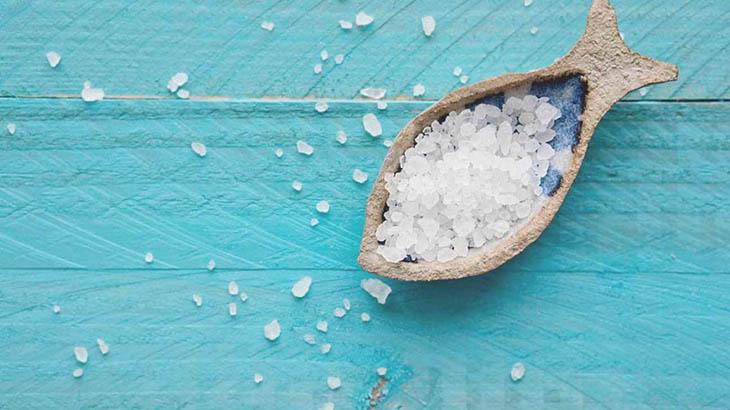 muối có nhiều công dụng trong làm đẹp