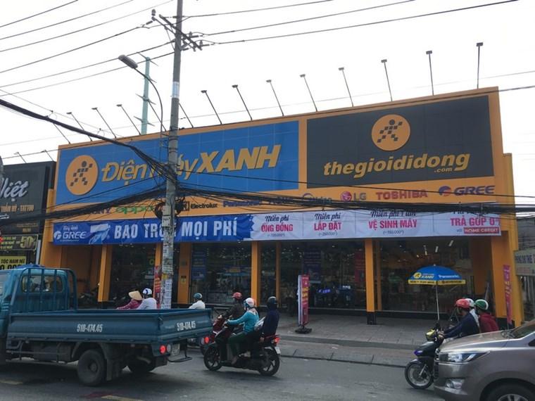 Siêu thị điện máy xanh tại B15/7A Quốc lộ 50, Ấp 2, Xã Bình Hưng, Huyện Bình Chánh, Thành phố Hồ Chí Minh