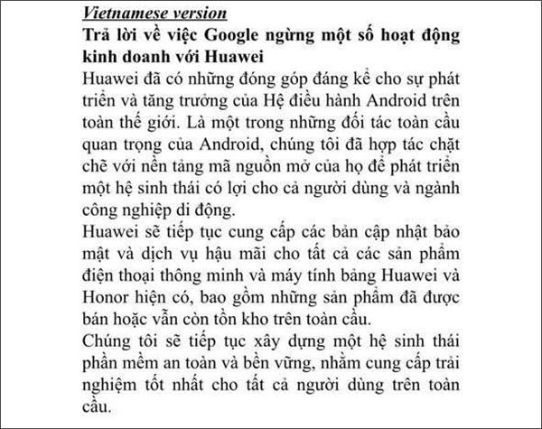 Huawei Việt Nam