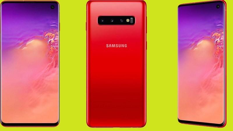 Galaxy S10 đỏ