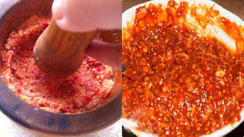 Làm muối ớt