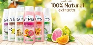 5 loại sữa tắm St.Ives được chị em lựa chọn nhiều nhất