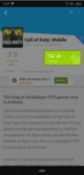 Cách tải và chơi Call Of Duty Mobile dễ dàng