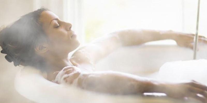 Tắm nước ấm