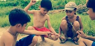 Gợi nhớ kí ức với những trò chơi dân gian gắn liền với tuổi thơ
