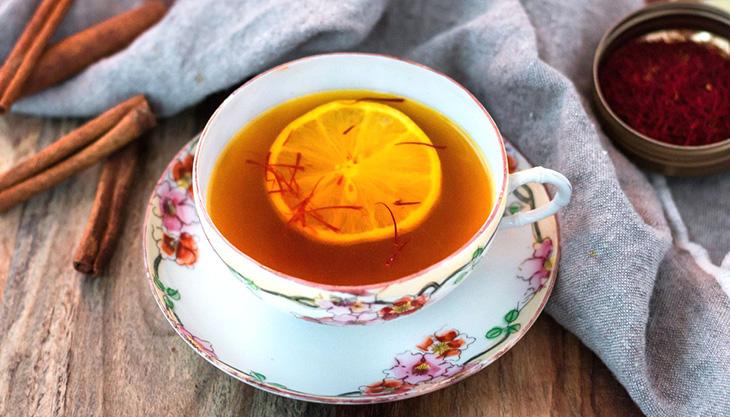pha trà Saffron