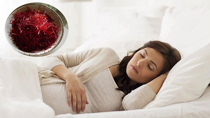 Nhụy hoa nghệ tây saffron có tác dụng giúp ngủ ngon
