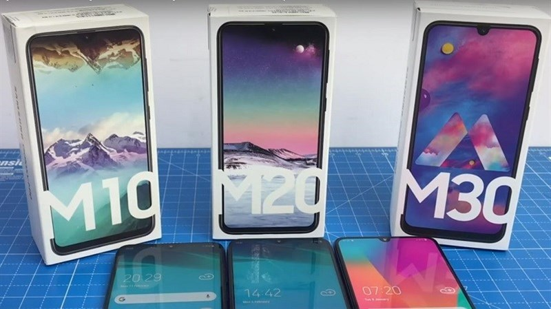 Galaxy M10, Galaxy M20, Galaxy M30 bắt đầu được cập nhật Android 9 Pie