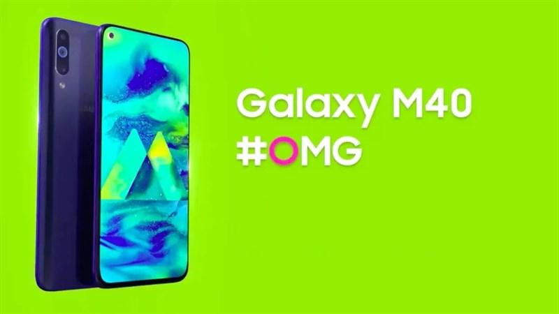 Galaxy M40 có màn hình nốt ruồi, 3 camera sau nhưng giá rất phải chăng