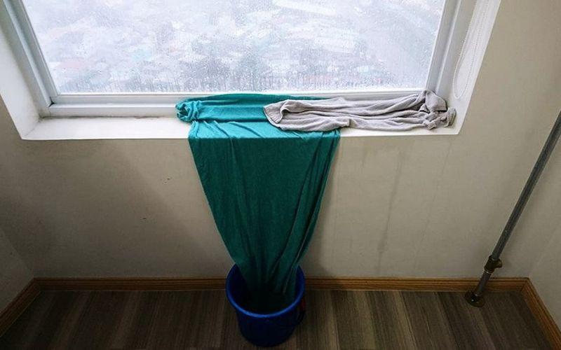 Những biện pháp hạn chế nước mưa tạt vào nhà