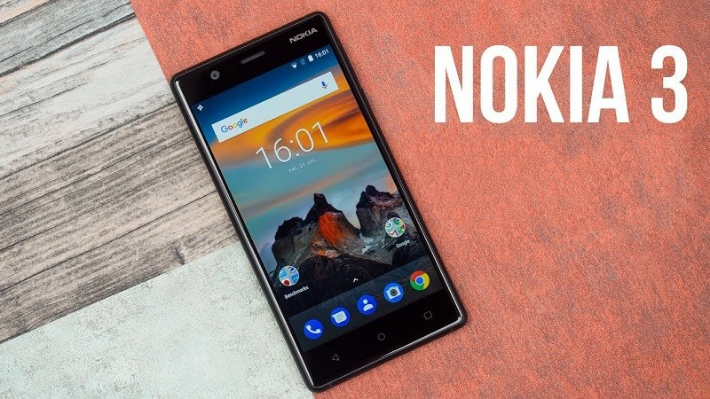 Nokia 3 (2017) tại Việt Nam chính thức được cập nhật Android 9 Pie