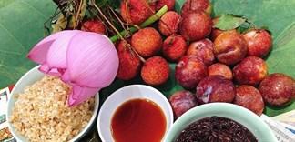 Những loại trái cây thường thấy trên mâm cúng Tết Đoan Ngọ