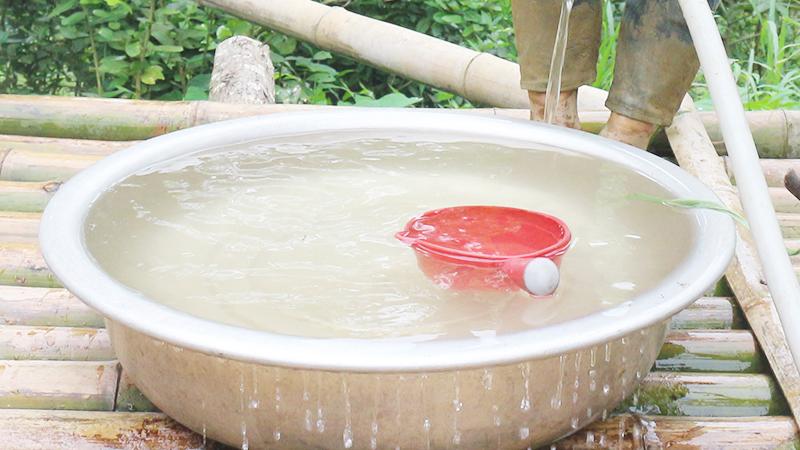 Lọc nước bằng vôi