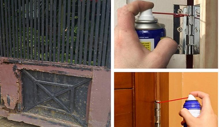 Cách khắc phục cửa sắt bị kêu cọt kẹt, rỉ sét và mùa mưa