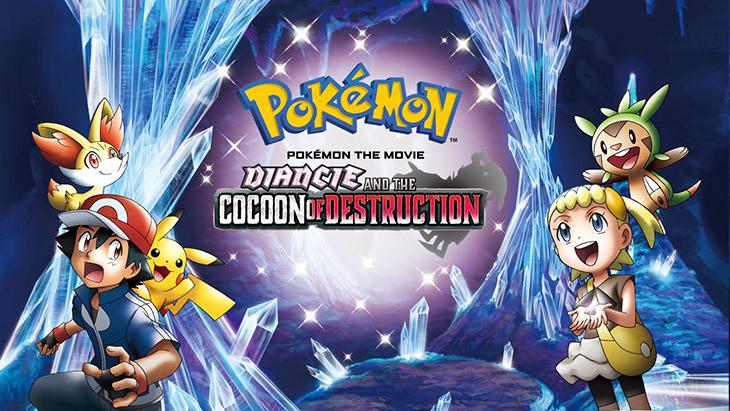 Pokemon the Movie: Diancie và Cocoon of Destruction